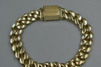 9ct CHILDREN'S CUBAN LINK  BRACELET